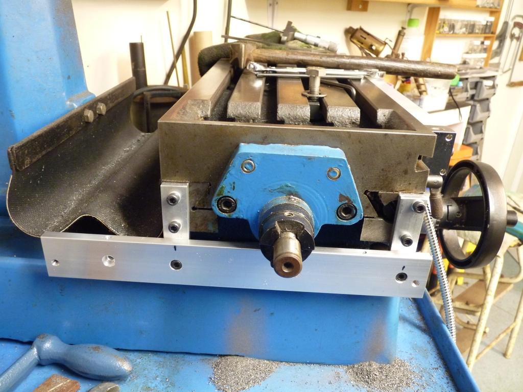 Bracketet Mount Tool Bridgeport Mill Machine Spindle Quill Return 25mm Spring